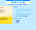 Karat Font Type1 Screenshot 0