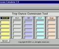 Troy Ounce Conversion Tool Screenshot 0