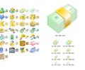 Money Icon Set Screenshot 0