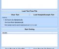 Sort Text Lists Alphabetically Software Screenshot 0