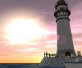 Lighthouse 3D screensaver Screenshot 0