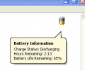 Laptop Battery Power Monitor Screenshot 0