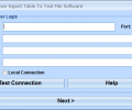 MS SQL Server Export Table To Text File Software Screenshot 0