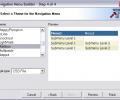 Javascript Menu Builder for CodeCharge Studio Screenshot 0