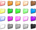 Folder Color Icon Set Screenshot 0