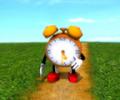 Running Clock 3D Screensaver Screenshot 0