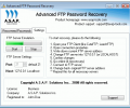 Advanced FTP Password Recovery Screenshot 0