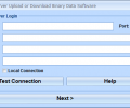 MS SQL Server Upload or Download Binary Data Software Screenshot 0