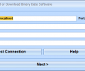 MySQL Upload or Download Binary Data Software Screenshot 0
