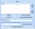 Print Multiple Web Sites Software Screenshot 0