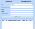 Excel Checkbook Register Template Software Screenshot 0