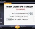 xNeat Clipboard Manager Screenshot 0