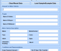 MS Word Bill Of Sale For Car Template Software Screenshot 0