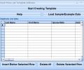 Excel Phone List Template Software Screenshot 0