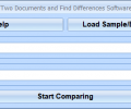 MS Word Compare Two Documents and Find Differences Software Screenshot 0