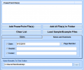 MS PowerPoint Add Headers and Footers To Multiple Presentations Software Screenshot 0