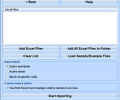 MS Access Import Multiple Excel Files Software Screenshot 0
