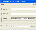 Free DVD 2 Windows Media Player Convert Screenshot 0
