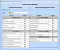 Excel Balance Sheet Template Software Screenshot 0
