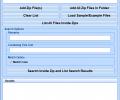 Search Inside Zip Files Software Screenshot 0