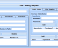 Excel Party Plan Template Software Screenshot 0