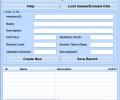 Excel Inventory List Template Software Screenshot 0