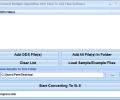 Convert Multiple OpenOffice ODS Files To XLS Files Software Screenshot 0