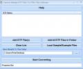 Convert Multiple RTF Files To HTML Files Software Screenshot 0