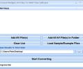 Convert Multiple AVI Files To WMV Files Software Screenshot 0
