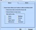 Old Menus For MS Word 2010 Software Screenshot 0