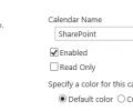 SharePoint Calendar Rollup Screenshot 0